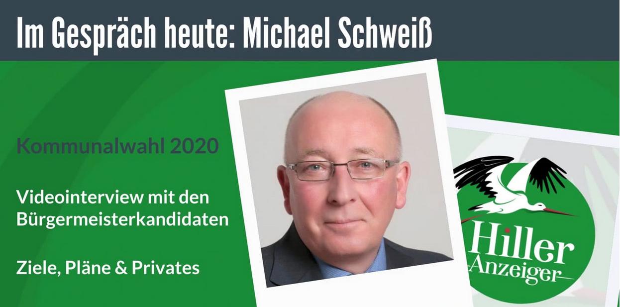 Michael Schweiß - Bürgermeisterkandidat im ersten Video-Interview
