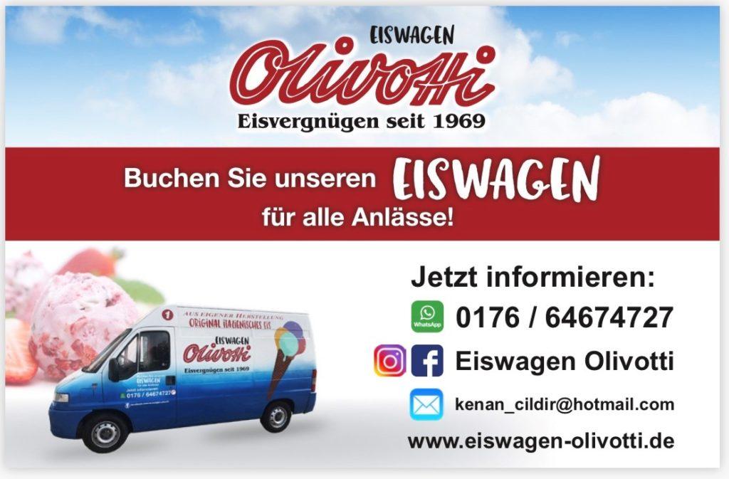 Eiswagen Olivotti