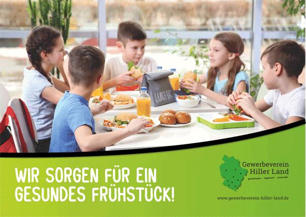 """Aktion des Hiller Gewerbeverein """"Gesundes Frühstück"""" jetzt für alle 9 Kindergärten in Hille"""