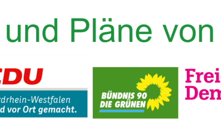 Die Ziele und Pläne der Parteien für Hille: SPD, CDU, Bündnis 90 / Grüne, Freie Demokraten FDP