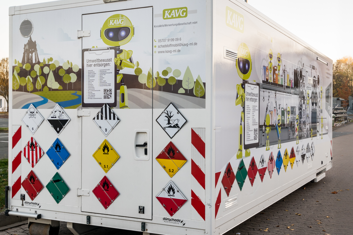 Schadstoffmobil KAVG