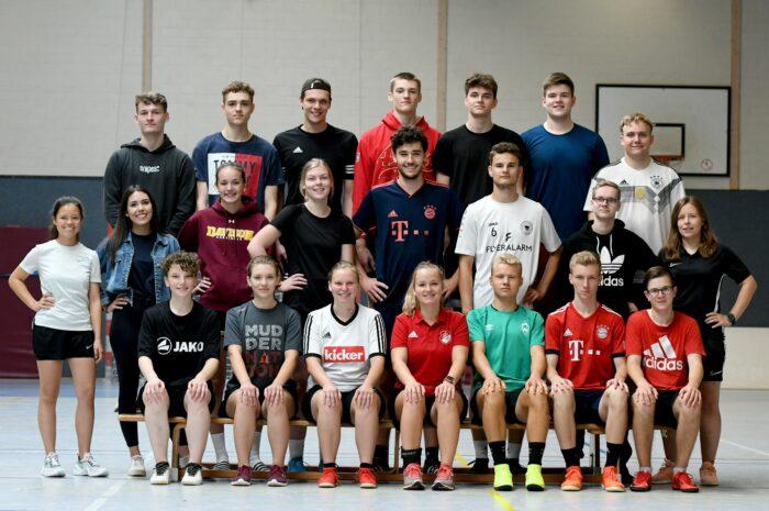 Ein Jahr zur Orientierung: 21 junge Menschen nehmen ihr Freiwilliges Soziales Jahr auf und begegnen sich beim Einführungsseminar des Kreissportbundes Minden-Lübbecke