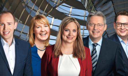 Fotocollage mit v.l. Dennis Rohde, Wiebke Esdar, Marja-Liisa Völlers, Achim Post, Stefan Schwartze