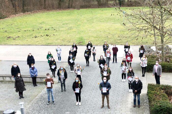 Studierende erzielen trotz Lockdowns Bestnoten