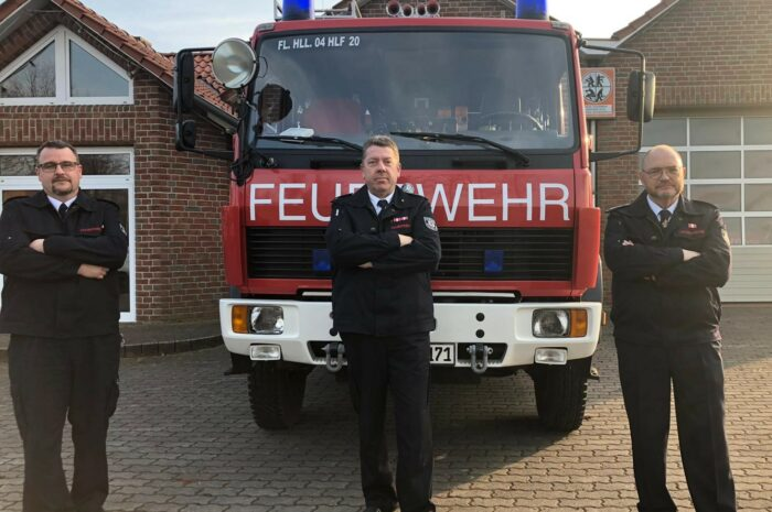 Gemeinderat bestätigt Feuerwehrleiter Bernhard Förster und Stellvertreter Andreas von Behren-Krüger in ihren Ämtern