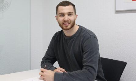 Dominik Ebner verlängert Vertrag um zwei Jahre