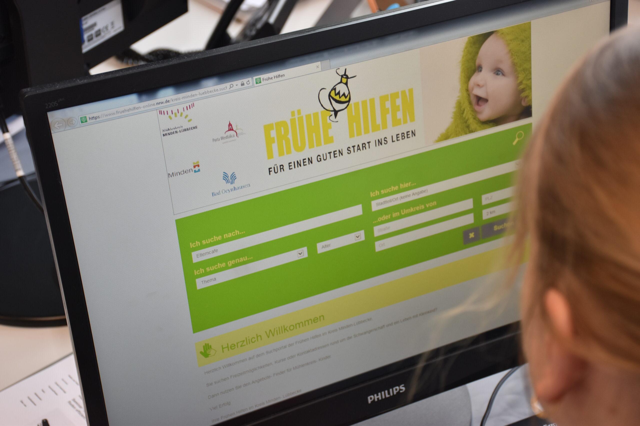 Onlineportal Frühe Hilfen, PM