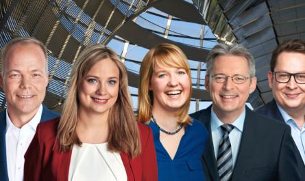 v.l. Dr. Matthias Miersch, Marja-Liisa Völlers, Dr. Wiebke Esdar, Achim Post, Stefan Schwartze Hinweis zum Foto: Fotocollage