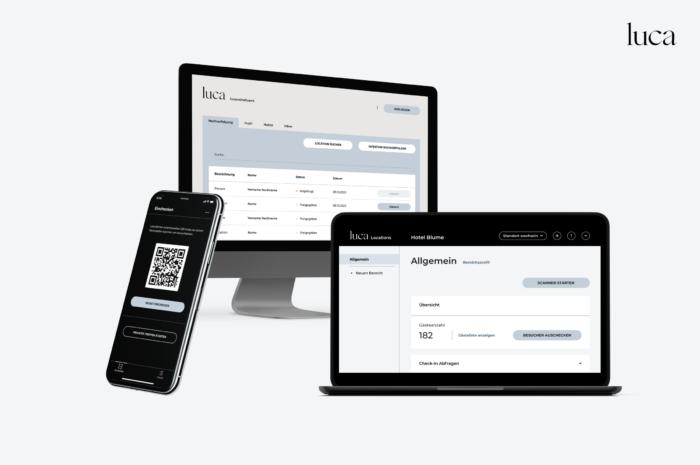 """Mit """"Luca"""" innovativ die Kontaktnachverfolgung sichern"""