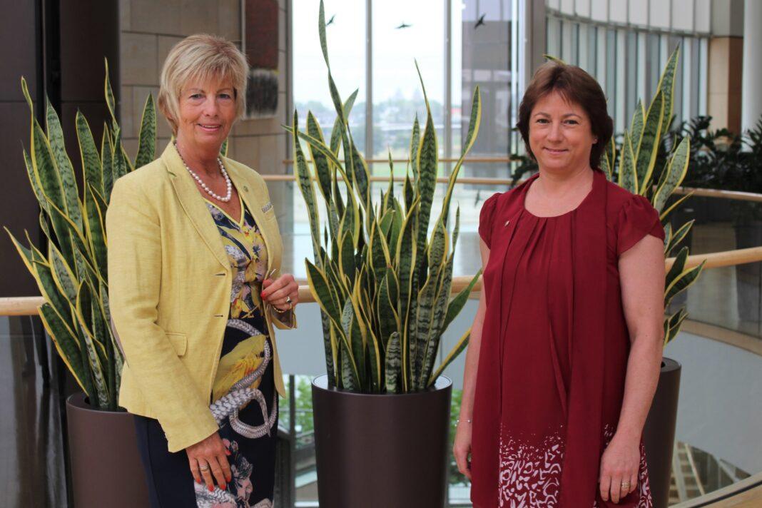 Foto: Kirstin Korte MdL und Bianca Winkelmann MdL
