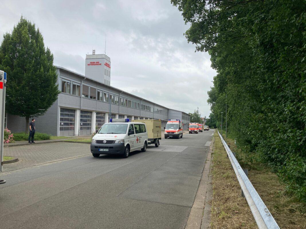 Vor der Abfahrt - Michael Kirchhoff/Kreis Minden-Lübbecke