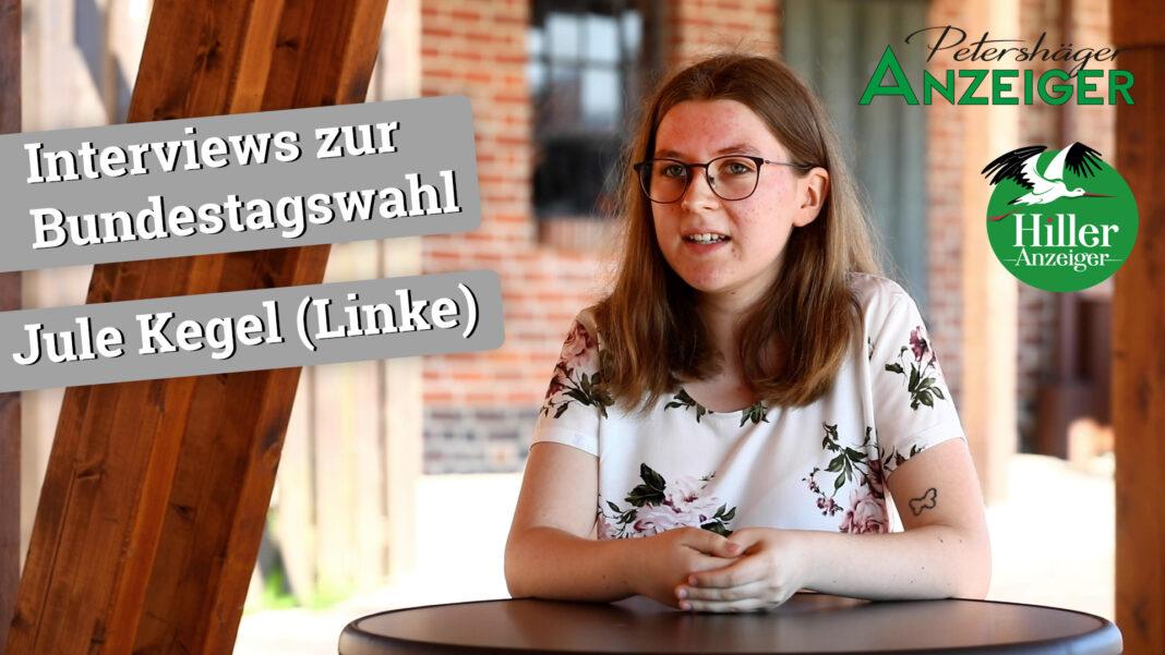 Interview zur Bundestagswahl 2021 mit Jule Kegel (Linke)