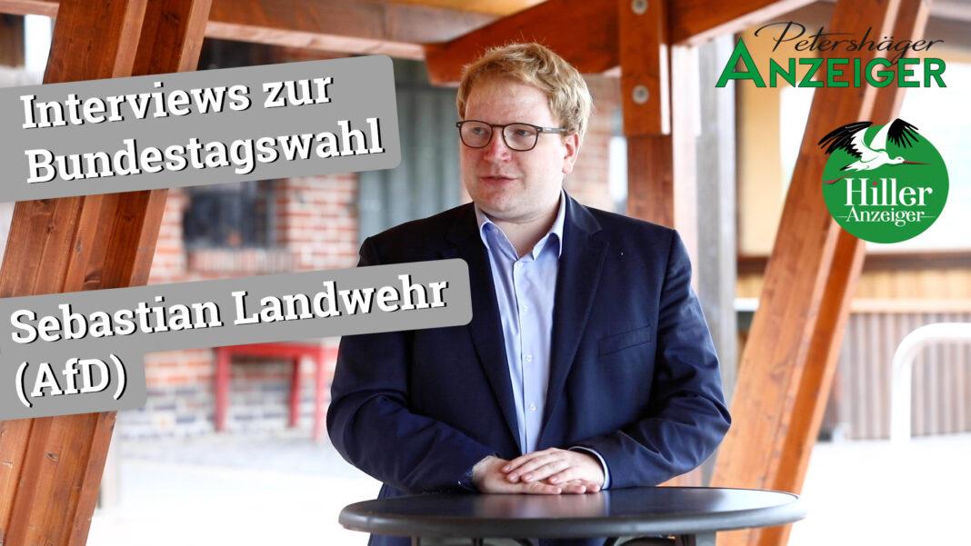 Interview zur Bundestagswahl 2021 mit Sebastian Landwehr (AfD)