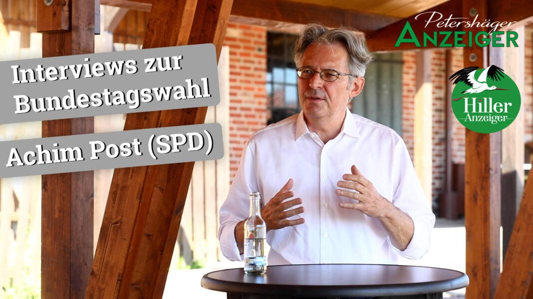 Interview zur Bundestagswahl 2021 mit Achim Post (SPD)