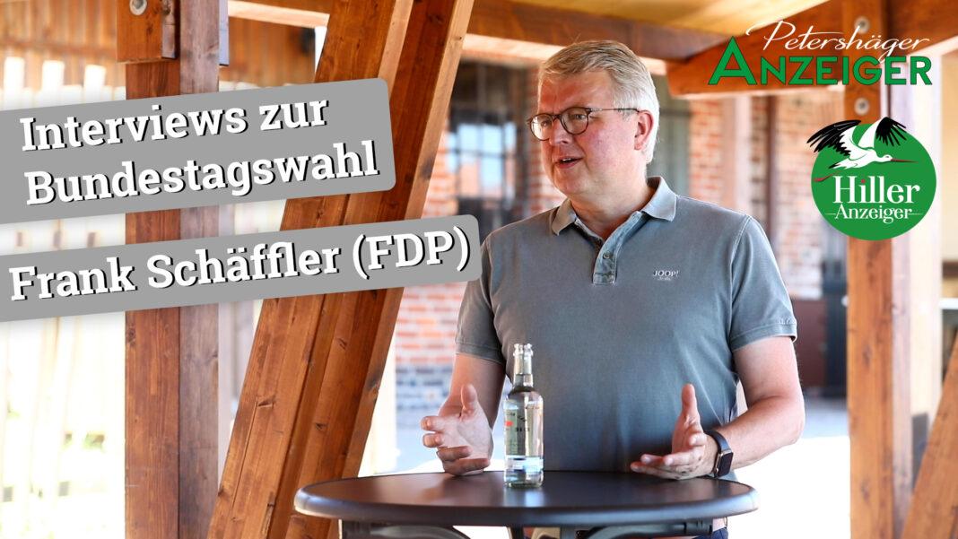 Interview zur Bundestagswahl 2021 mit Frank Schäffler (FDP)