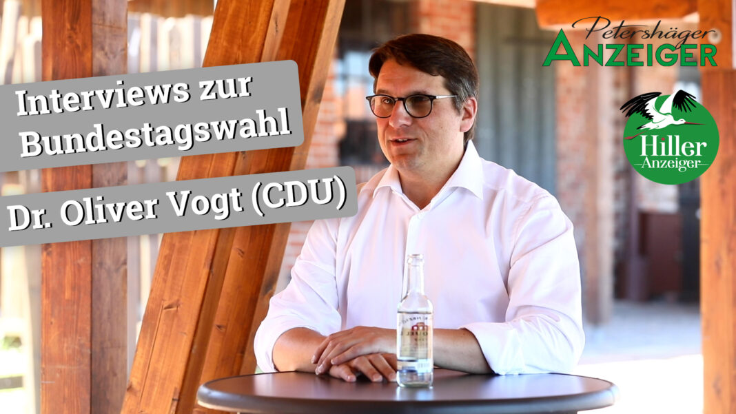 Interview zur Bundestagswahl 2021 mit Dr. Oliver Vogt (CDU)