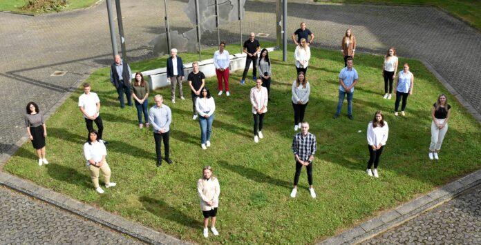 Foto: Mirjana Lenz/Kreis Minden-Lübbecke -Neue Auszubildende bei der Kreisverwaltung 2021