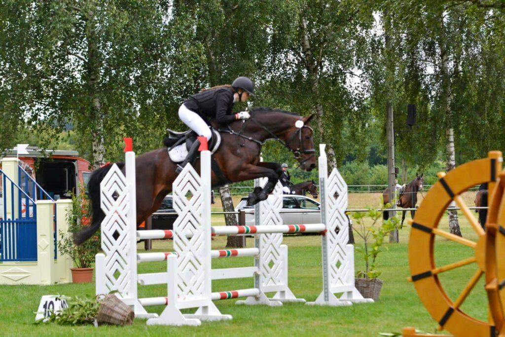 Neue Vereinsmeisterin Fortgeschrittene ist Pia Sophie Koch; Foto Laura Niermeier