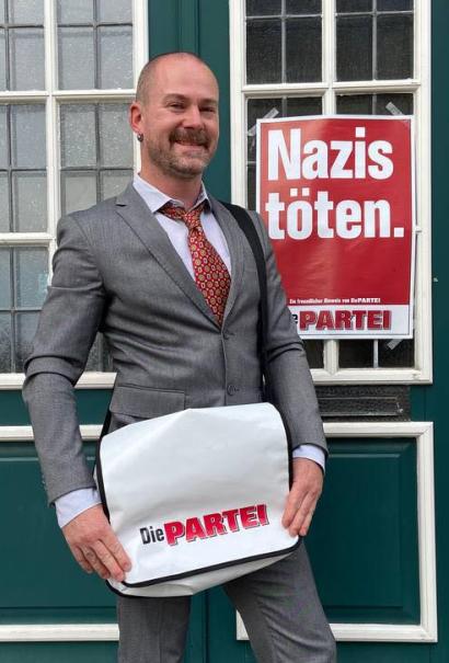 Sebastian Peter Schmitz (die Partei) - Kandidat zur Bundestagswahl 2021