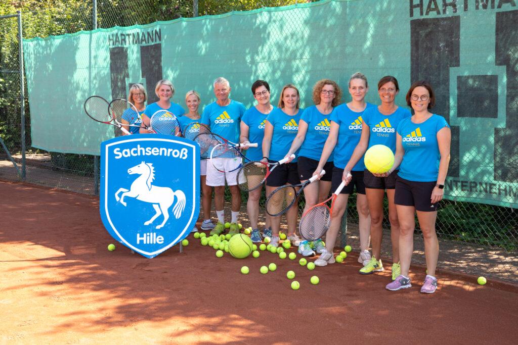 Trainingsgruppe-Montags-Damen - Tennis - TV Hille, Dennis Hanschke